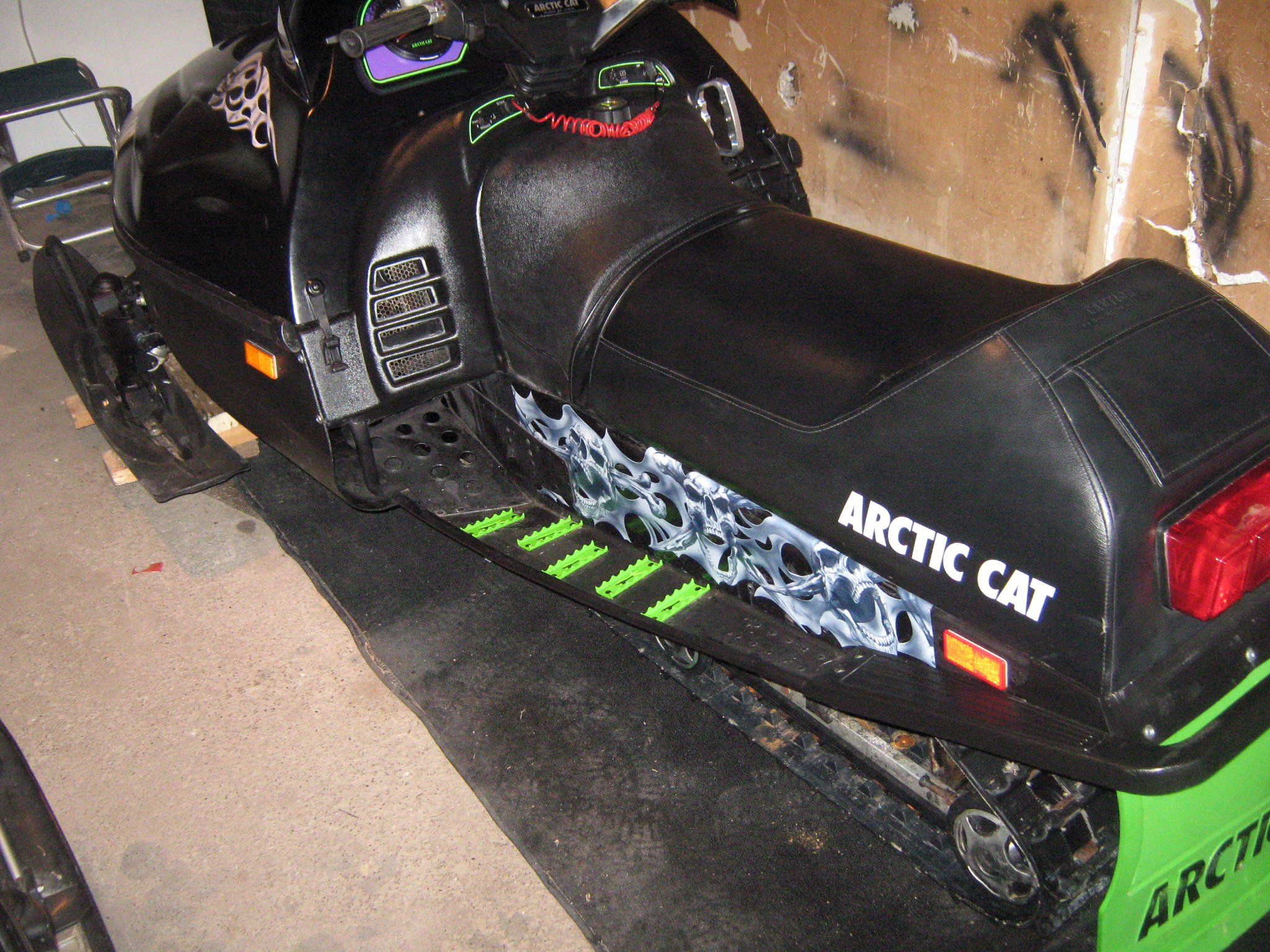 Arctic Cat Snowmobile Foot Grips
