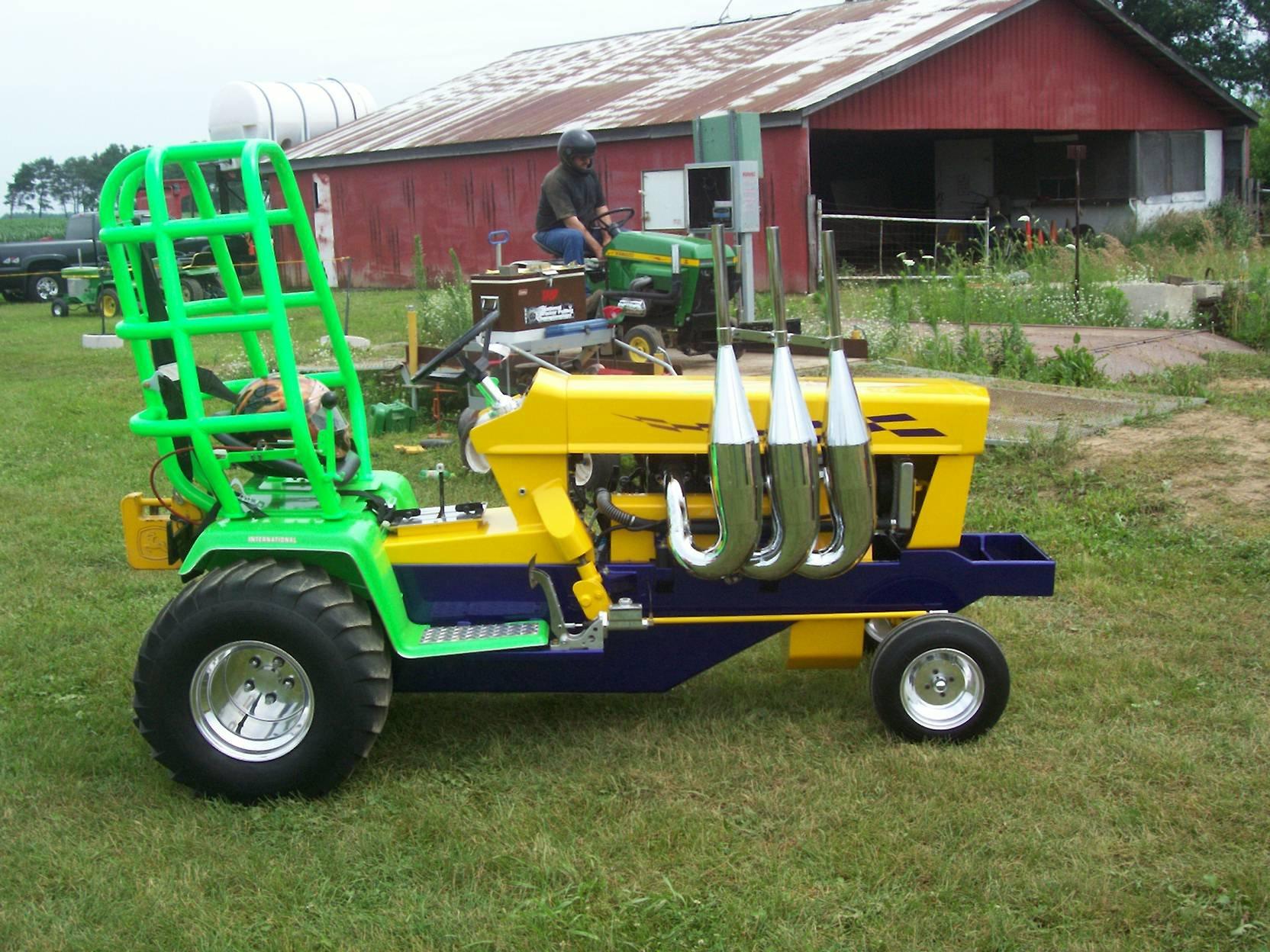 Snowmobile Quad Or Lawnmower Need Help