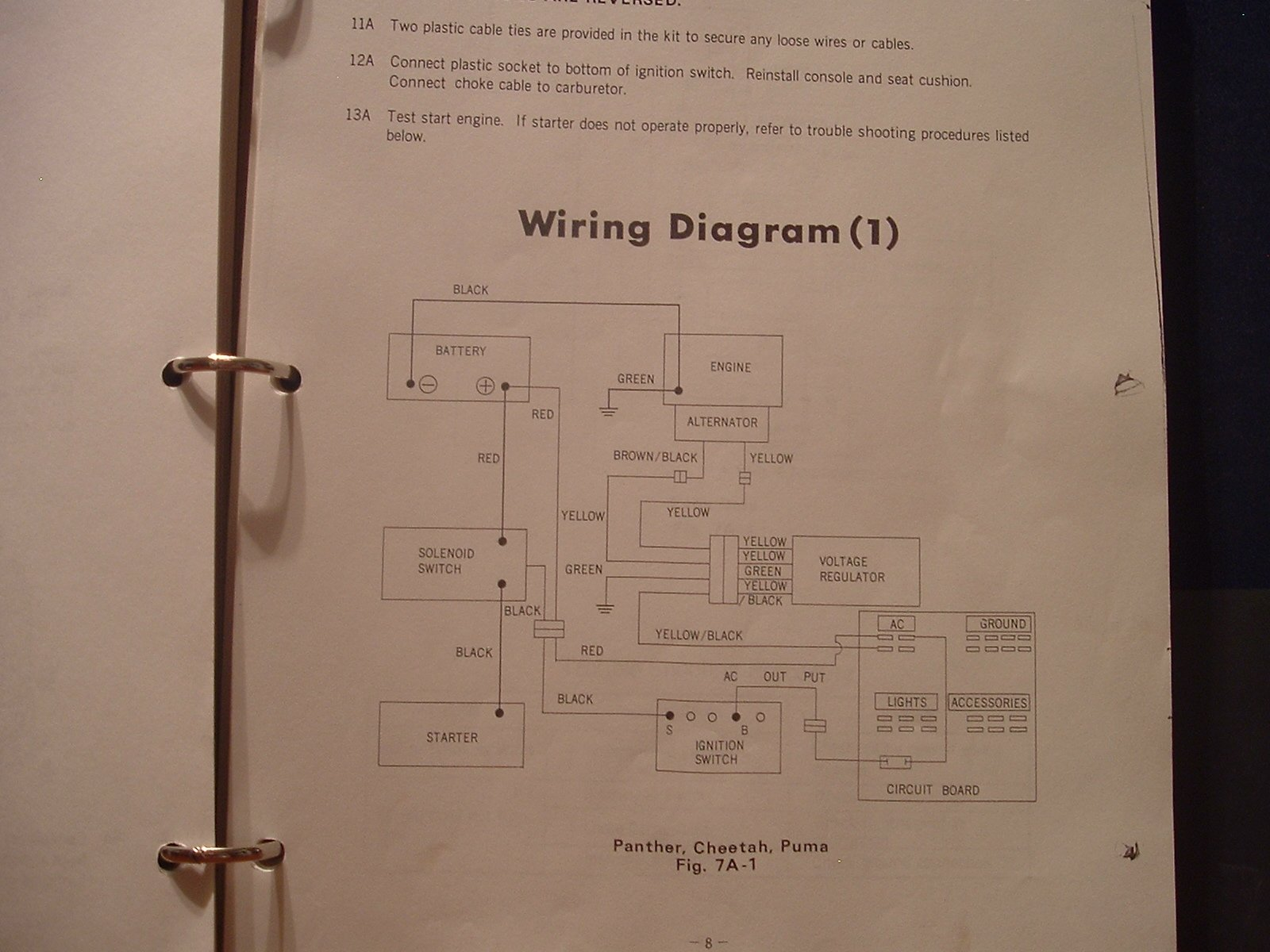 Wiring Diagram 1972 Arctic Cat Puma 74depo Aquade