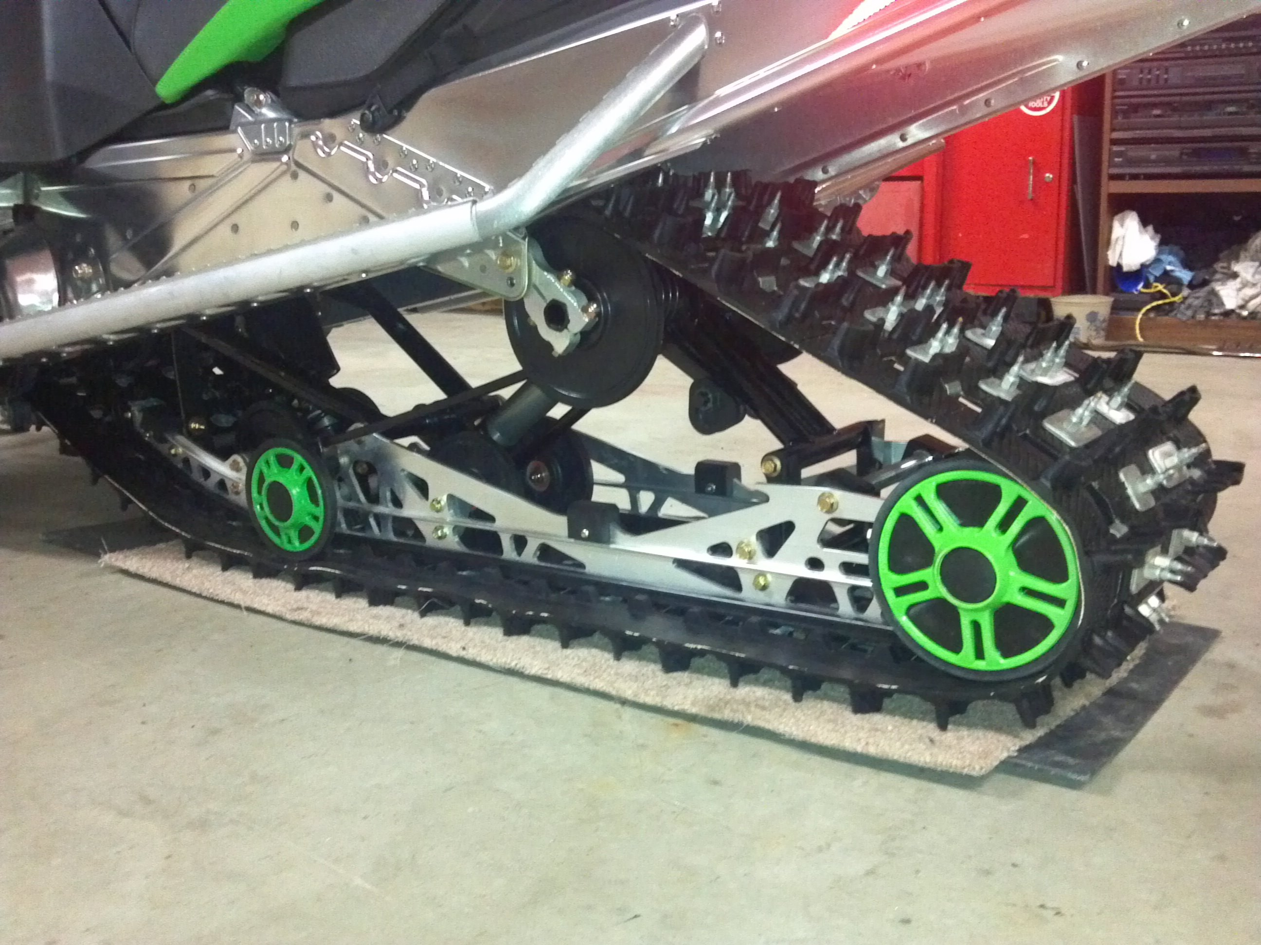 D Picked Up F I Need Some Input Rear Suspension