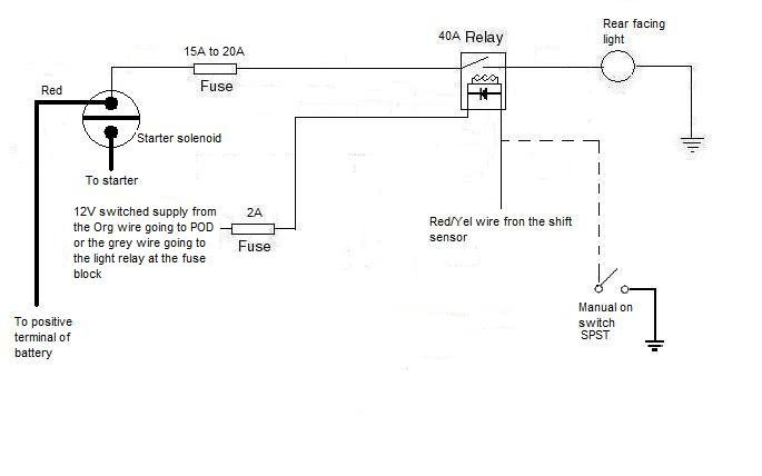 reverse light wiring page 2 arcticchat com arctic cat forum rh arcticchat com Baja 150 ATV Wiring Diagram Need a Picture of a 110 ATV Wiring Diagram