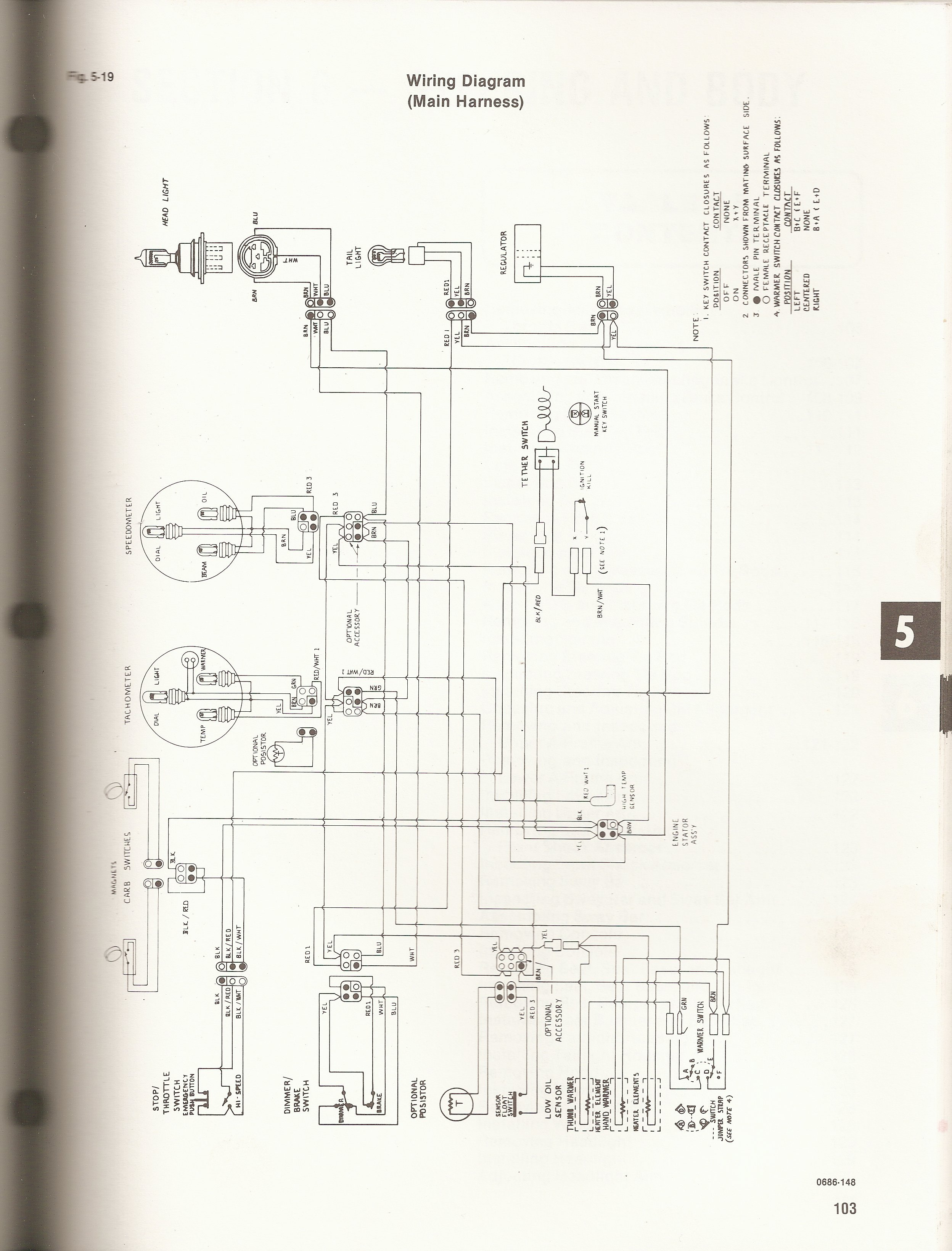 [SCHEMATICS_4HG]  1992 Wildcat Wiring Diagram | Arctic Cat Forum | Arctic Cat Lynx Wiring Diagram |  | Arctic Cat Forum