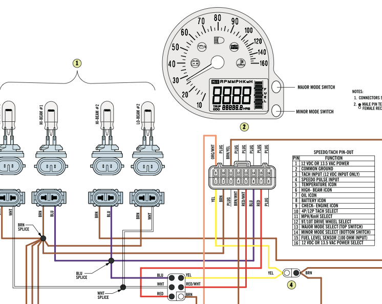 03 f7 temp light on at start up - arcticchat.com - arctic ... arctic cat snowmobile wiring diagrams 2003 z570 #12