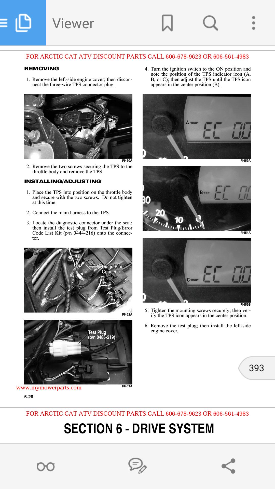 06 arctic cat 700 efi tps reset arcticchat com arctic cat forum click image for larger version screenshot 2015 08 28 21 40
