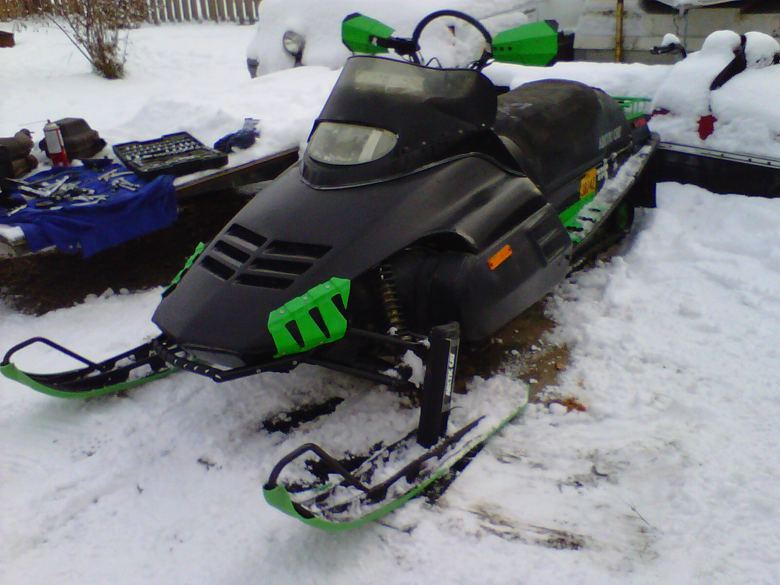 Arctic Cat Snowmobile Wiring Diagram Cougar 440 1994 Light Switch 2001 Engine For 800 Twin Needed Arcticchat 222162d1359797311 Got Any Pics Your Ext Sled Repairs 022 309869 3html