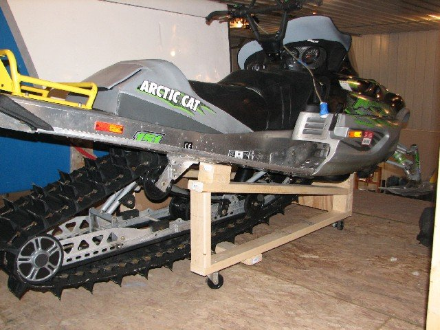 Diy Snowmobile Storage Lift Do It Your Self