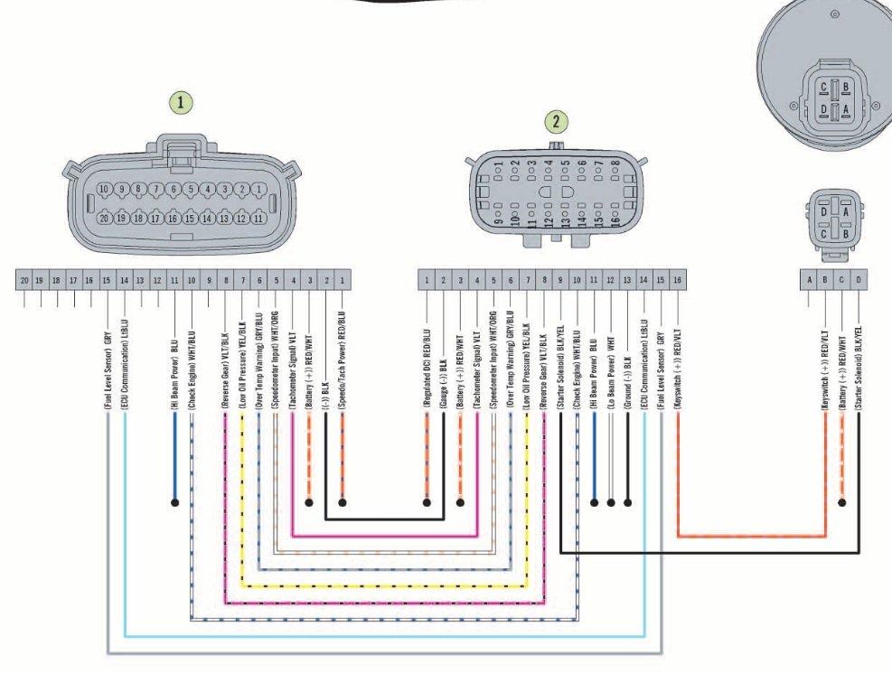 Wiring diagram for F1100T?? | Arctic Cat Forum Arctic Chat