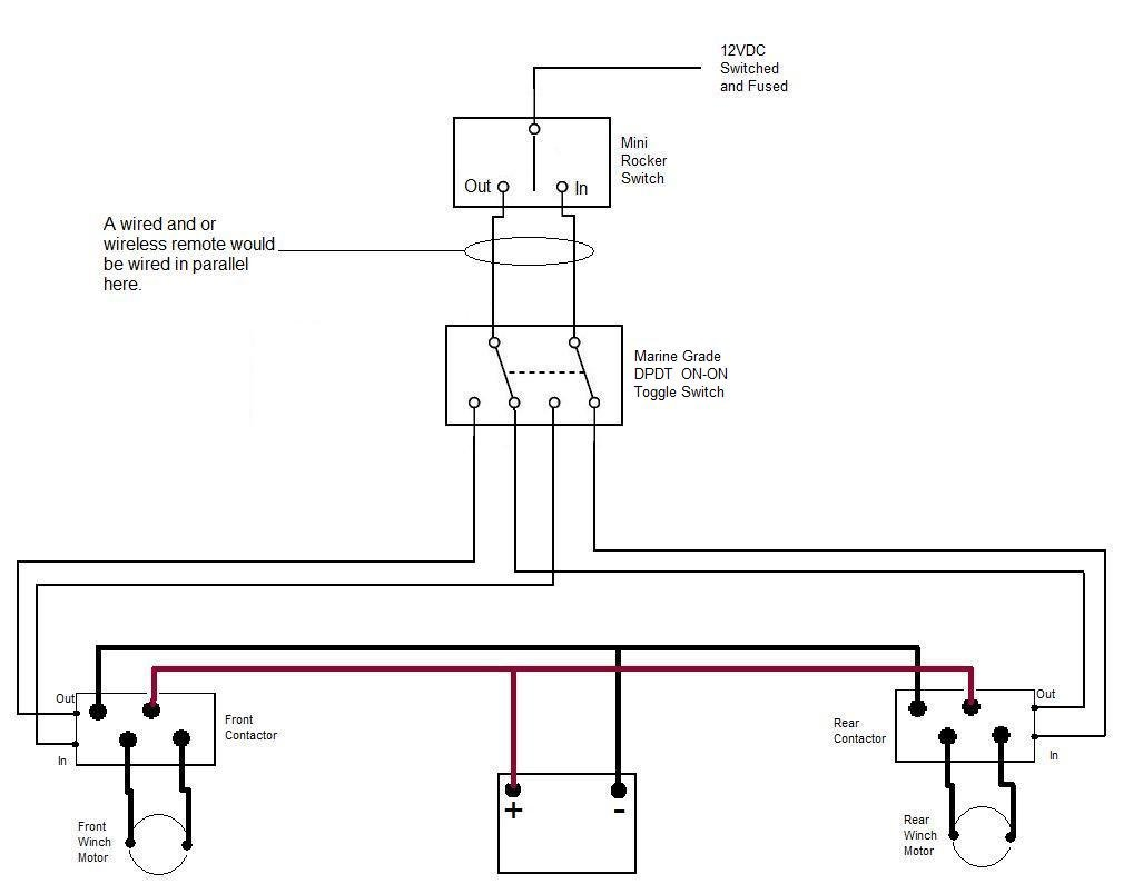 Rear Winch Page 2 Arctic Cat Forum Wiring Diagram Click Image For Larger Version Name Two Control Wiring2 Views 528 Size 541