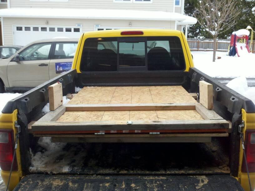 Sled Deck Vs Ford Ranger Arcticchat Com Arctic Cat Forum