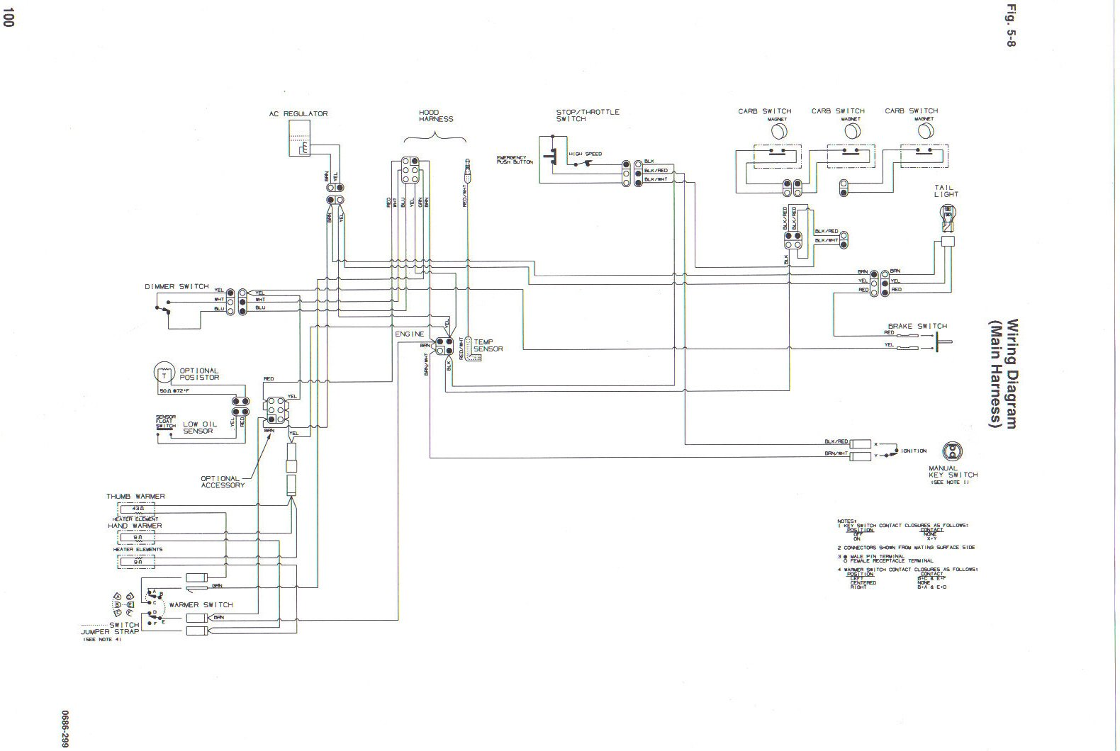 [DIAGRAM_38ZD]  need help on wiring | Arctic Cat Forum | Arctic Cat Snowmobile 4 Stroke Wiring Diagrams |  | Arctic Cat Forum