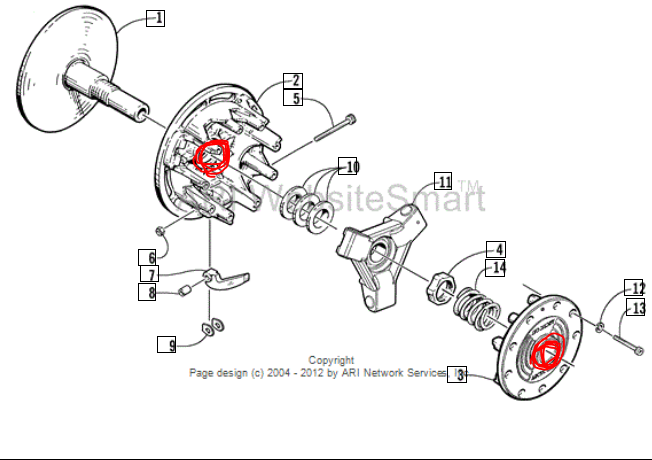 ZR 800 Clutch Parts needed not on parts diagram!!! - ArcticChat ...