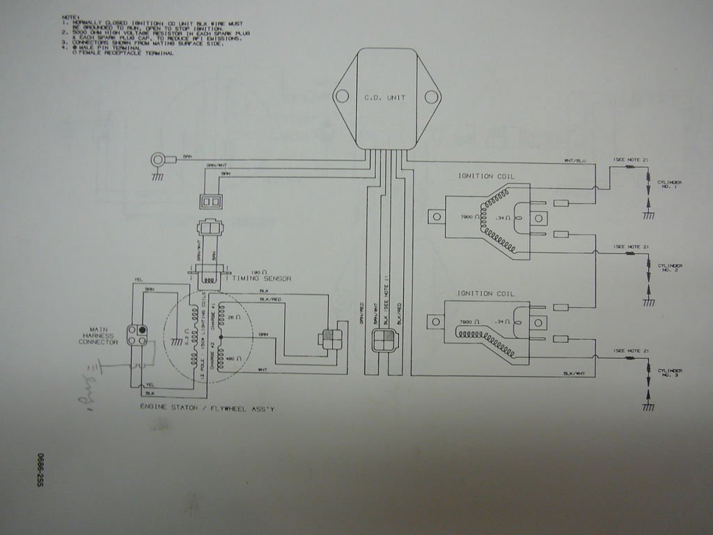 Zrt Wiring Diagram In Addition Arctic Cat Books Of For 1996 600 800 Triple Coil Check Arcticchat Com Forum Rh