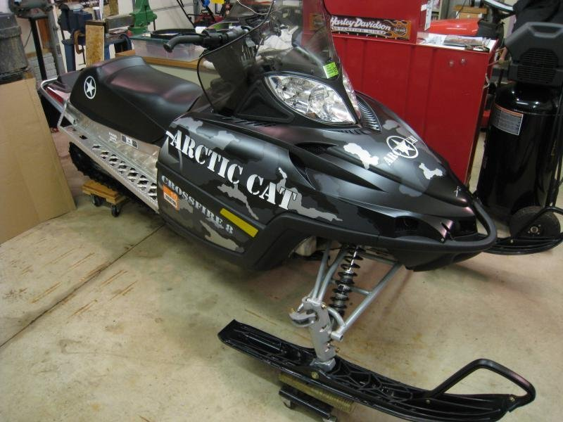 Showcase cover image for 2smoke's 2009 Arctic Cat Crossfire R