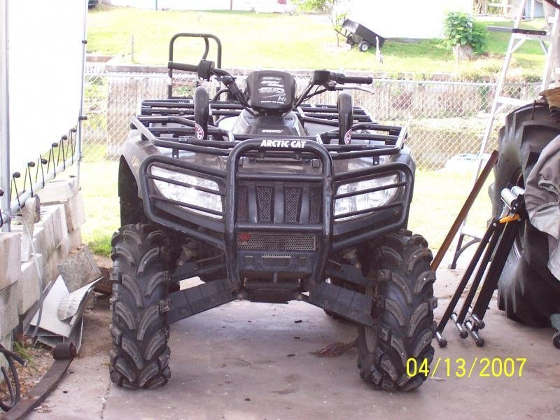 Showcase cover image for swampfox97's 2006 Arctic Cat 650 H1