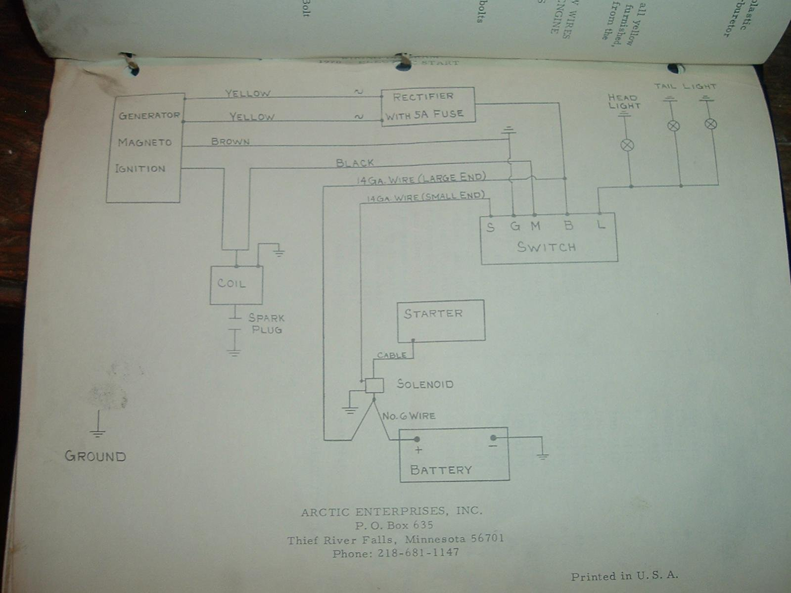 [FPWZ_2684]  BAB 1971 Arctic Cat Wiring Diagram | Wiring Resources | Arctic Cat Snowmobile 4 Stroke Wiring Diagrams |  | Wiring Resources