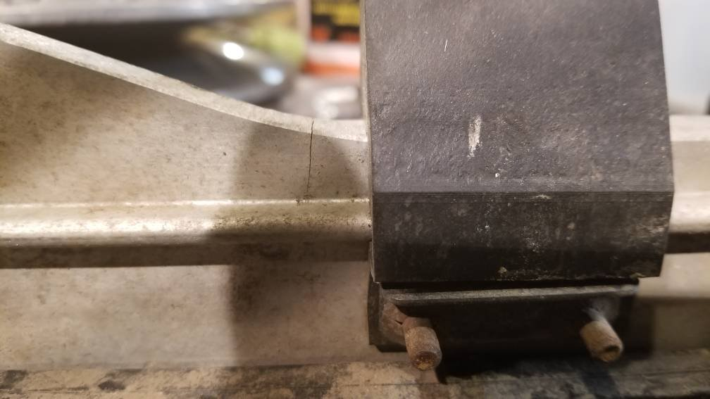 Cracked slide rails!!!! | Arctic Cat Forum