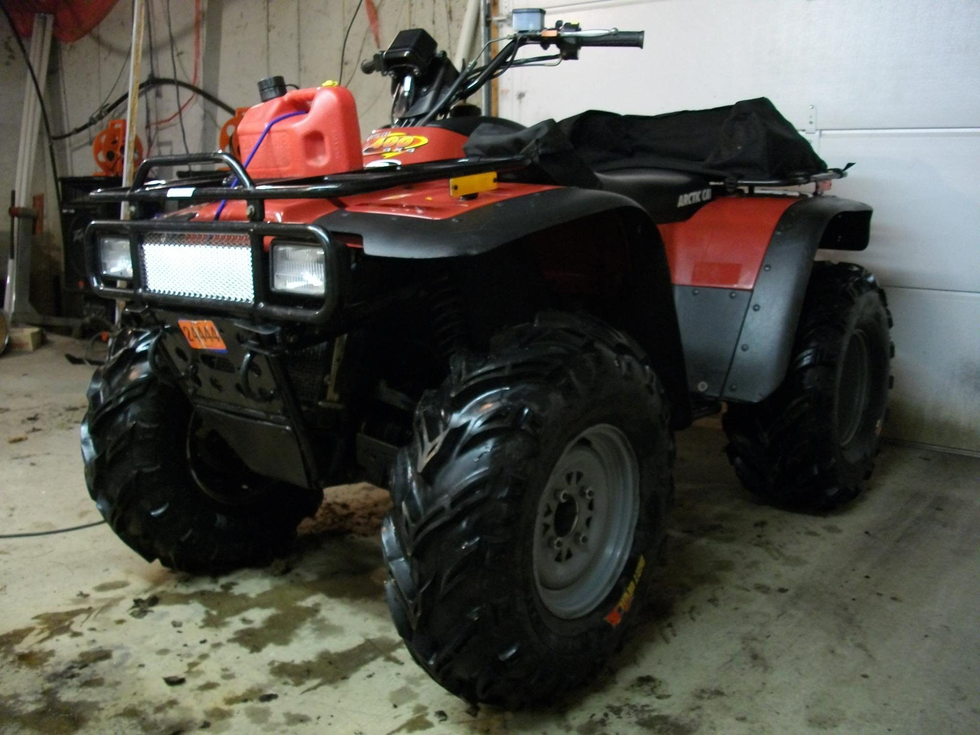This is a thread to help those who may have questions with their older  chassis AC ATV, mine is a 1999 400, and I've done a few modifications, ...
